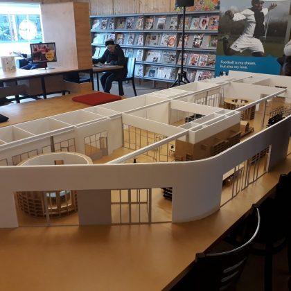 Maatschappelijk gebouw Bibliotheek 1